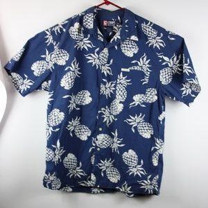 Chaps Ralph Lauren Short Sleeve XL Blue
